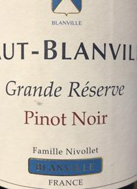 Haut-Blanville Grande Réserve Pinot Noirtext