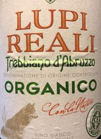 Lupi Reali Trebbiano d'Abruzzo Organicotext