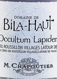 M. Chapoutier Domaine de Bila-Haut Occultum Lapidem Rouge