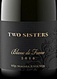 Two Sisters Vineyards Blanc de Franctext