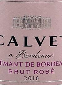 Calvet á Bordeaux Crémant de Bordeaux Brut Rosétext