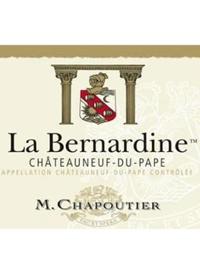M. Chapoutier Chateauneuf-du-Pape La Bernardine Rougetext