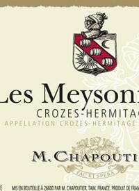 M. Chapoutier Crozes-Hermitage Les Meysonniers Rougetext