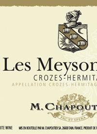 M. Chapoutier Crozes-Hermitage Les Meysonniers Blanctext