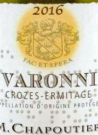 M. Chapoutier Crozes-Hermitage Les Varonnierstext