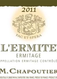 M. Chapoutier Ermitage L'Ermite Rougetext