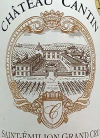 Cháteau Cantin Saint Emilion Grand Crutext