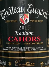 Chateau Eugenie Tradition Cahorstext