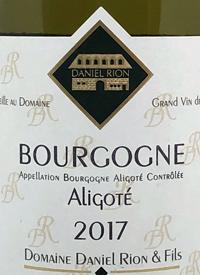 Domaine Daniel Rion & Fils Bourgogne Aligotétext