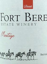 Fort Berens Meritagetext