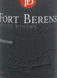 Fort Berens Meritage Reservetext