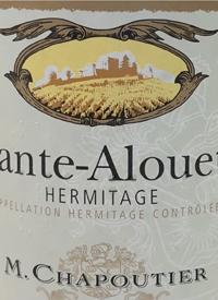 M. Chapoutier Hermitage Chante Alouette Blanctext