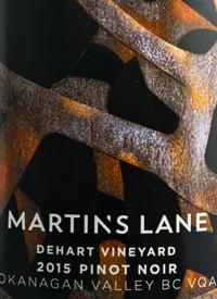 Martin's Lane Dehart Vineyard Pinot Noirtext