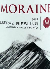 Moraine Reserve Rieslingtext