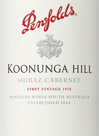 Penfolds Koonunga Hill Shiraz Cabernettext