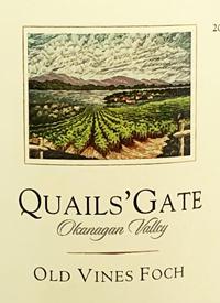 Quails' Gate Old Vines Fochtext