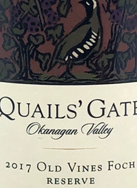 Quails' Gate Old Vines Foch Reserve