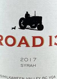 Road 13 Syrahtext