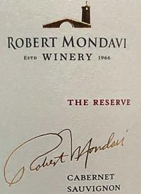 Robert Mondavi Cabernet Sauvignon The Reservetext