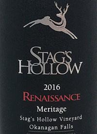 Stag's Hollow Renaissance Meritagetext