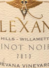 Alexana Dundee Hills Pinot Noir Revana Vineyardtext