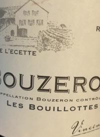Domaine de L'Ecette Bouzeron Les Bouillottestext