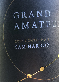 Grand Amateur Gentleman Syrahtext