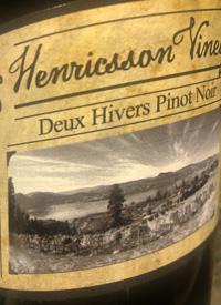 Henricsson Vineyard Deux Hivers Pinot Noirtext