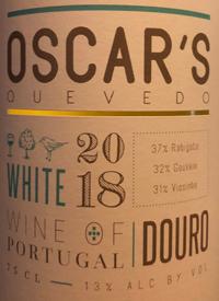 Oscar's Quevedo Whitetext