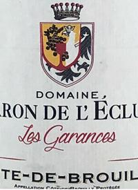 Domaine Baron de l'Ecluse Côte de Brouilly Les Garancestext