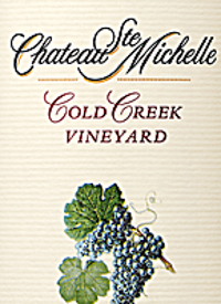 Chateau Ste. Michelle Merlot Cold Creek Vineyardtext