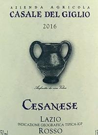 Casale del Giglio Cesanesetext