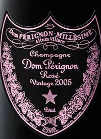 Champagne Dom Pérignon Millésimé Rosé Vintagetext