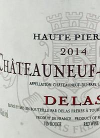 Delas Haute Pierre Châteauneuf-du-Papetext