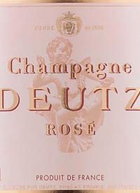 Champagne Deutz Brut Rosétext