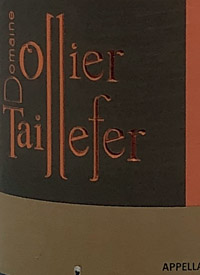 Domaine Ollier Taillfer Grande Reserve Faugerestext