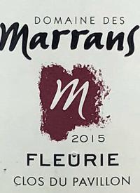 Domaine des Marrans Fleurietext