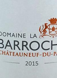 Domaine la Barroche Signature Châteauneuf-du-Papetext
