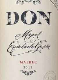 Don Miguel Escorihuela Gascon Malbectext