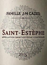 Famille J-M Cazes Saint-Estephetext