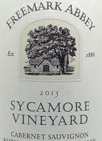 Freemark Abbey Cabernet Sauvignon Sycamore Vineyardstext