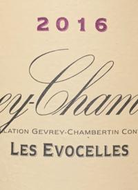 Domaine de la Vougeraie Gevrey-Chambertin Les Evocellestext