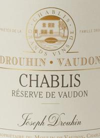 Drouhin Vaudon Chablis Réserve de Vaudontext