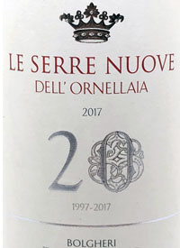 Le Serre Nuove Dell' Ornellaia 20text
