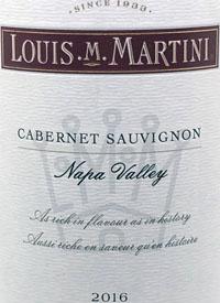 Louis M. Martini Cabernet Sauvignon Napatext