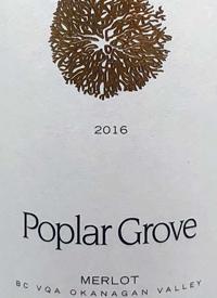 Poplar Grove Merlottext