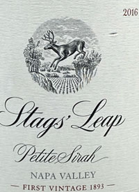 Stags' Leap Petite Sirahtext