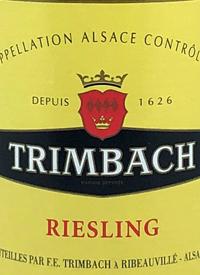 Trimbach Rieslingtext
