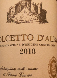 Bruno Giacosa Dolcetto d'Albatext