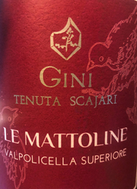 Gini Tenuta Scajari Le Mattoline Valpolicella Superioretext
